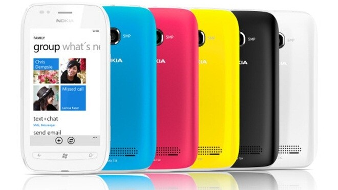 """Nokia introduces """"affordable"""" Lumia 710 Windows Phone [available from November]"""