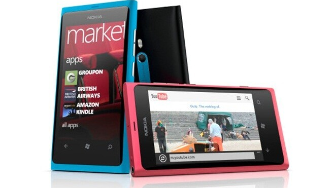 """Nokia launches Lumia 800 """"the first real Windows Phone"""" [available from November]"""