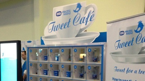 Twitter-powered cafe lets you tweet for a treat