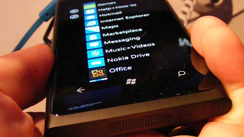 The Nokia Lumia 800 laid next to HTC's Titan and Radar [Video]