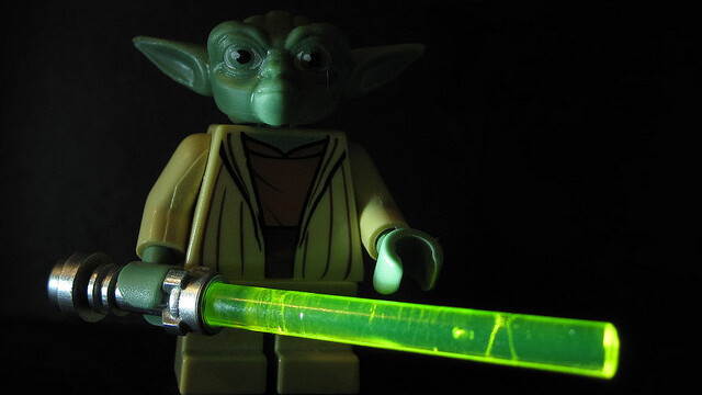 Yoda is a celebrity endorser in Japan and Cup Of Noodles is an advertising machine [video]