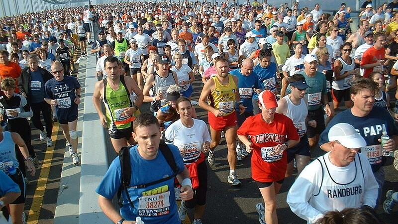 Basno awards virtual badges for NYC Marathon finishers
