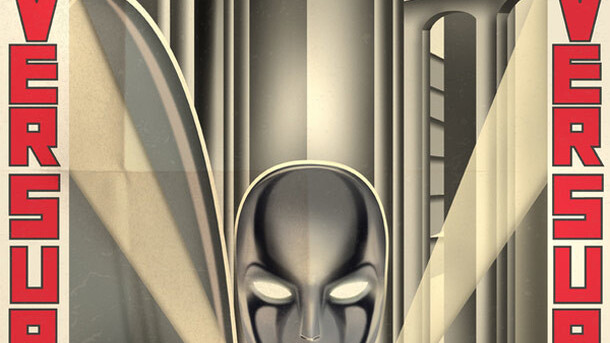 Decorate your geeky lair with these cool 'art deco' superhero posters