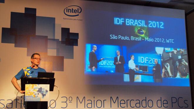 Intel Developer Forum coming to Brazil in 2012