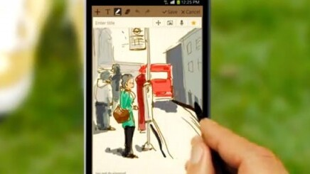 Samsung hires 4 artists to 'create your tweets' in Galaxy Note promo