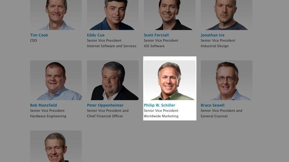 Apple's Phil Schiller gets a title update, now SVP of Worldwide Marketing