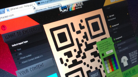 Create personalized QR codes with the fast and fun QRhacker