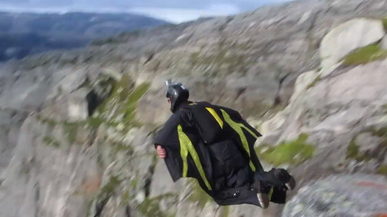 """This wingsuit """"flying"""" video will make your day"""