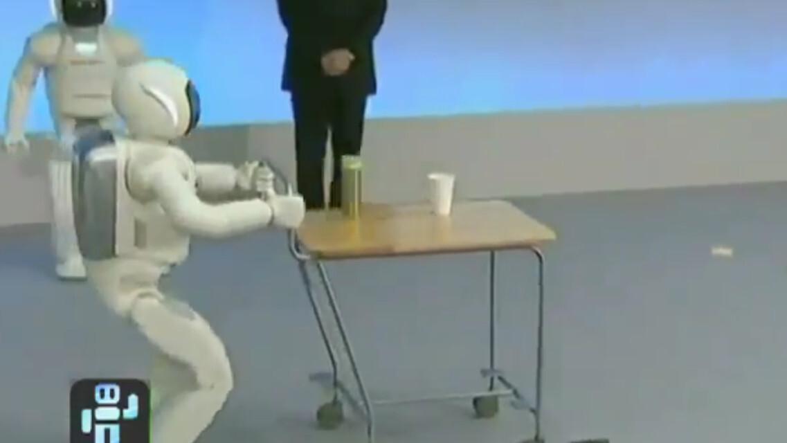 """Check out the """"All-new ASIMO"""", Honda's humanoid robot"""