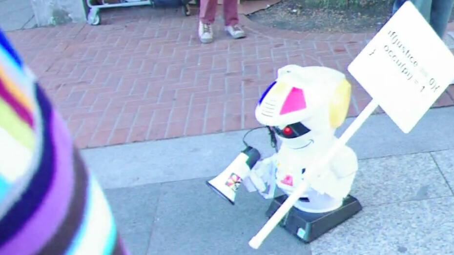 Why Occupy Wall Street when you could send a robot?