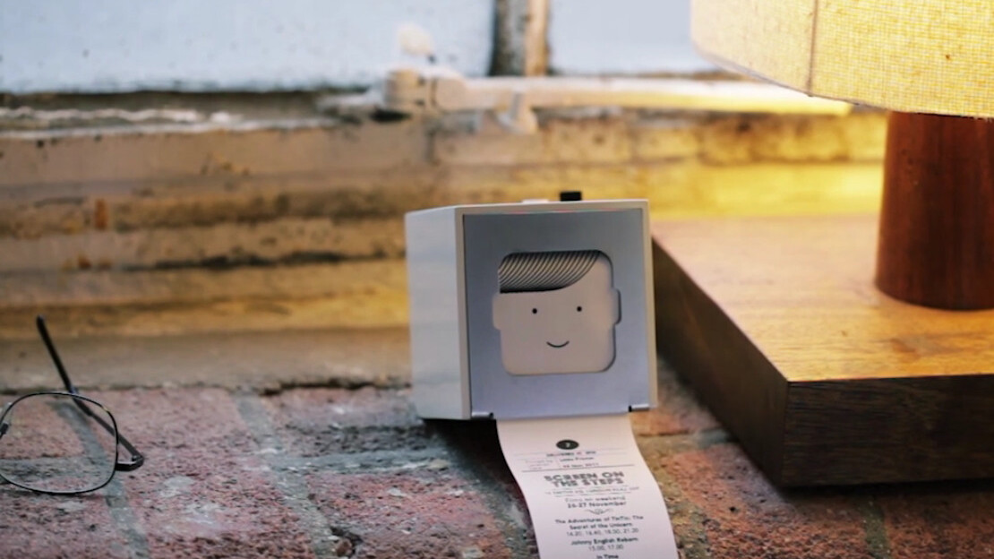 Meet The Little Printer: A cloud-based design object that prints from your phone