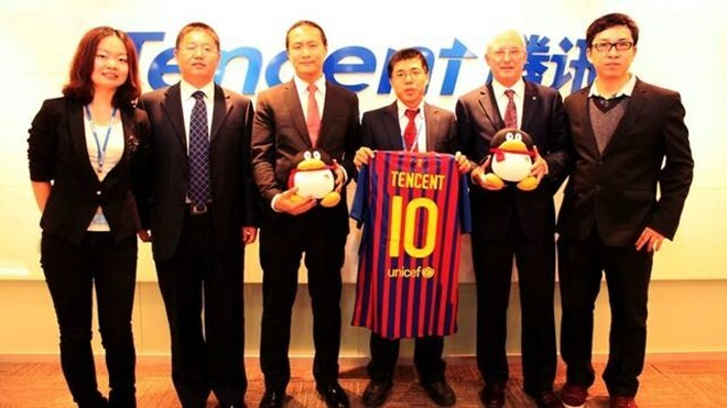 Barcelona focuses on social media in China with Tencent partnership