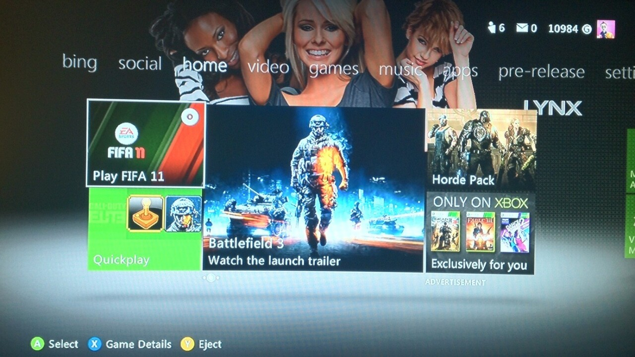 Microsoft's new Metro-inspired Xbox 360 update to roll out on December 6
