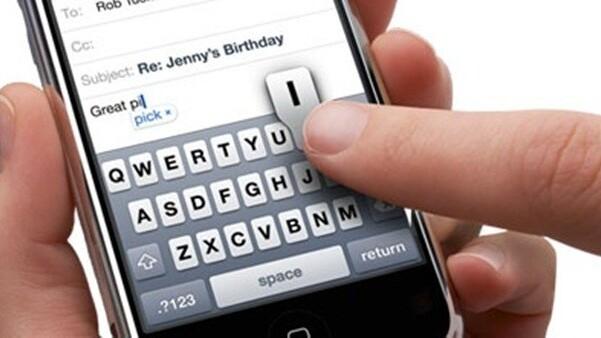 Hidden auto-correct keyboard bar for iPhone, iPad discovered in iOS 5