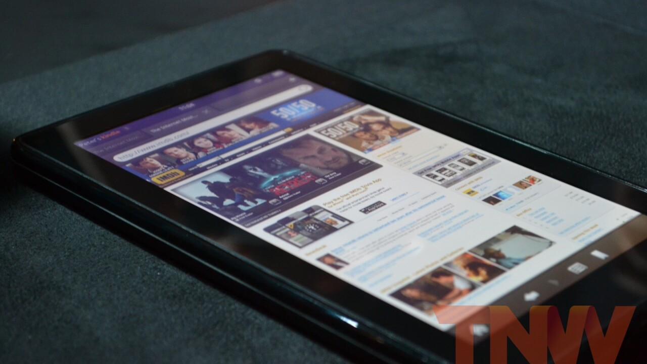 Amazon matches Nook Tablet media offerings, adds Hulu Plus to Kindle Fire