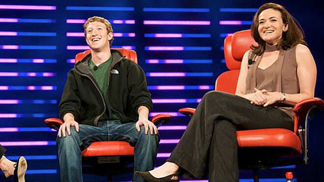 Sheryl Sandberg on how Facebook's culture differs from Google's. She's worked at both.