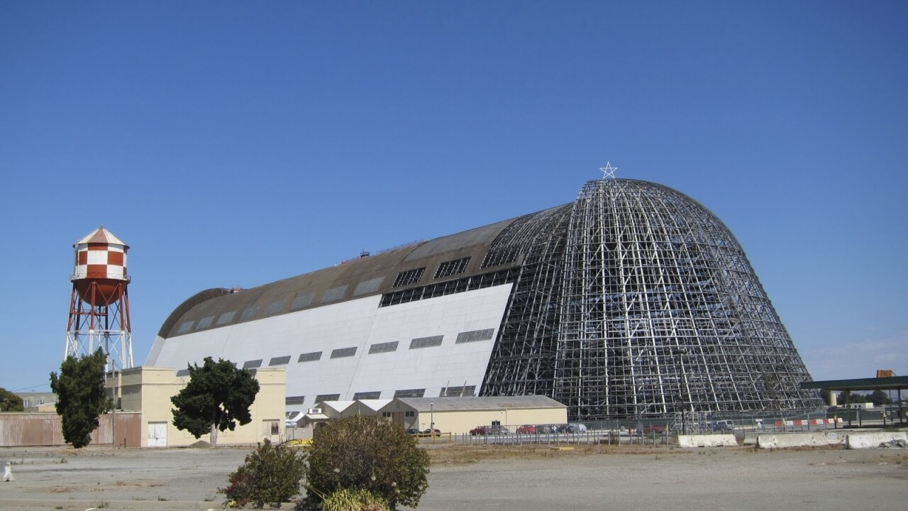 Google execs pay $32 million to restore Mountain View's iconic Hanger One