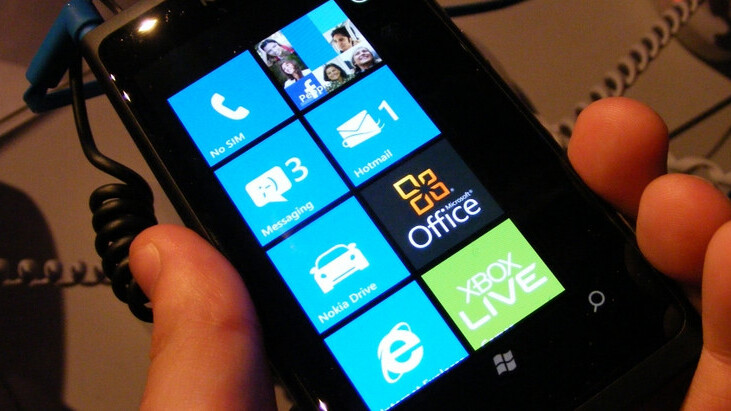 Painfully excluded from WP7's roadmap: Nokia