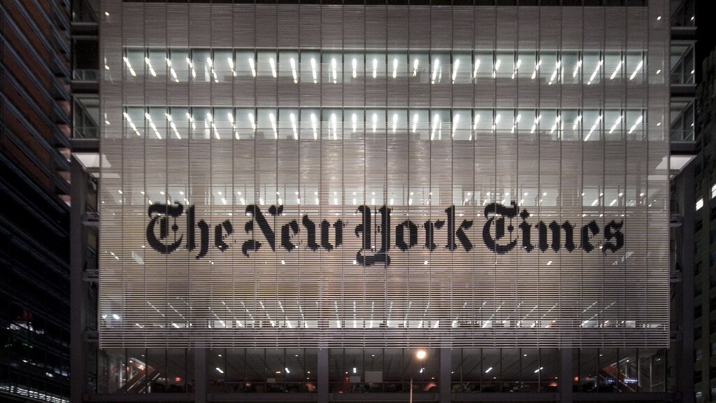 Why did The New York Times Company just lose its CEO?