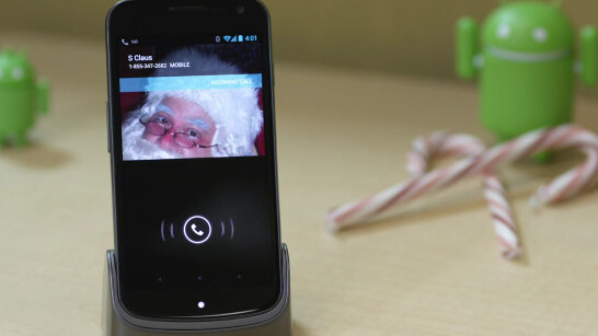 Google delivers a holiday message, but can't seem to deliver a lag-free Android device