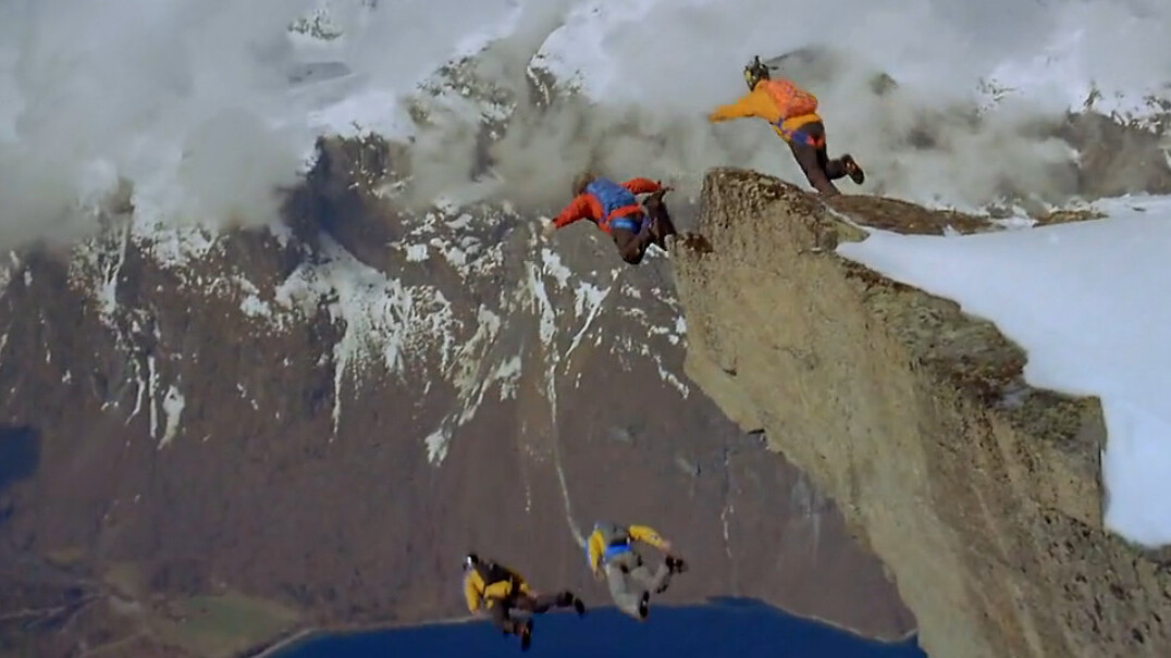 Adrenaline Rush: This is BASE jumping at its best