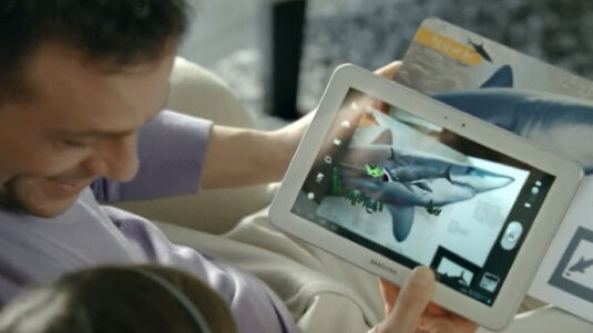 This Samsung ad takes another leaf out of Apple's book