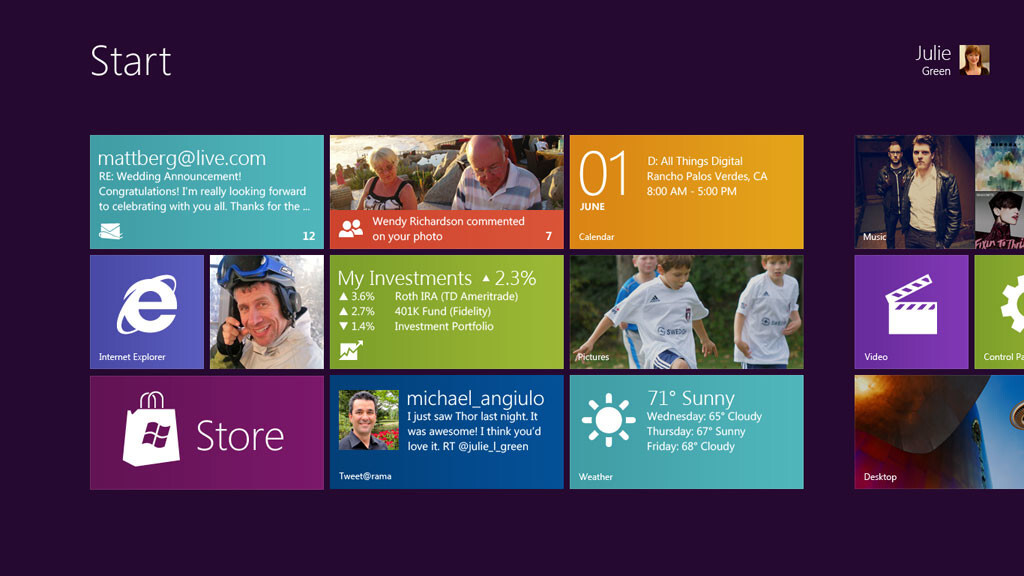 Live from Microsoft's Windows 8 Consumer Preview event