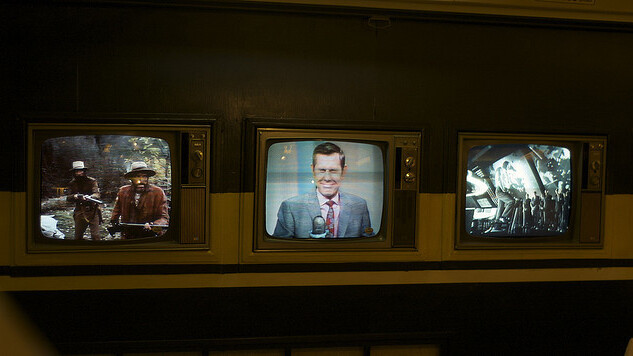 A third of TV-owning American households still have at least four television sets