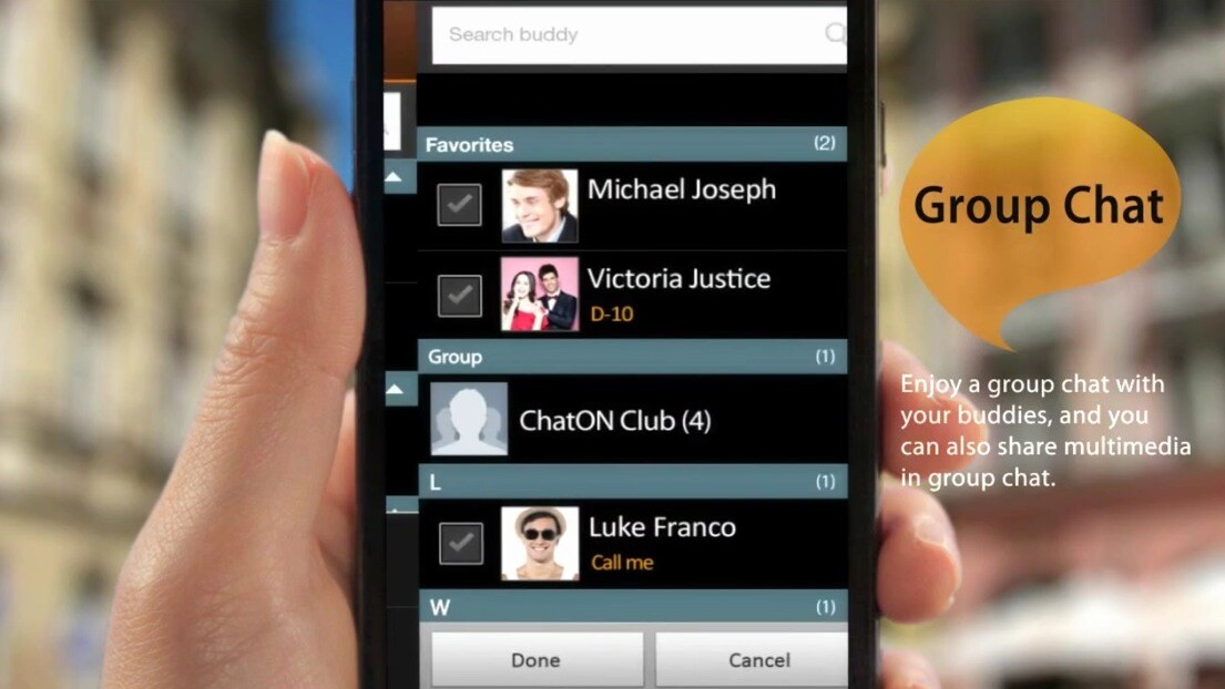 Samsung launches ChatON on the App Store, hopes to compete with iMessage