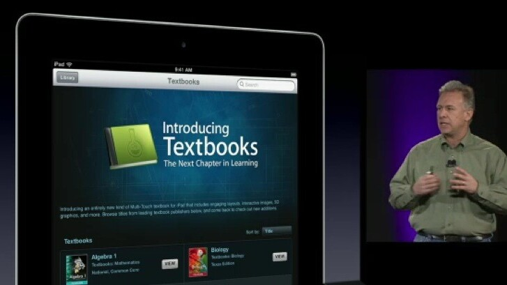 How does Steve Jobs' vision for textbooks match up with Apple's reality?