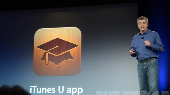 Apple announces an all new dedicated iTunes U app, with streaming lectures