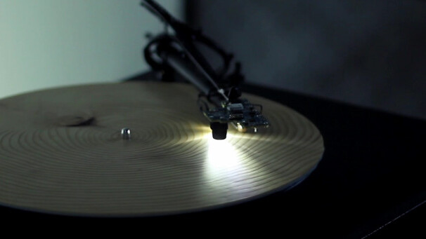 Here's a record player that was hacked to translate a tree's rings into music