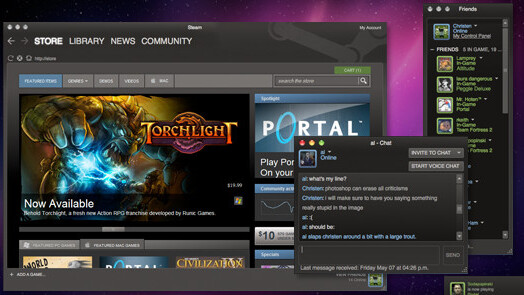 Valve launches Steam mobile apps to extend its huge gaming platform