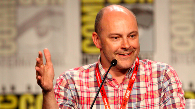 Comedian Rob Corddry talks about how Macs helped dig him out of a creative hole
