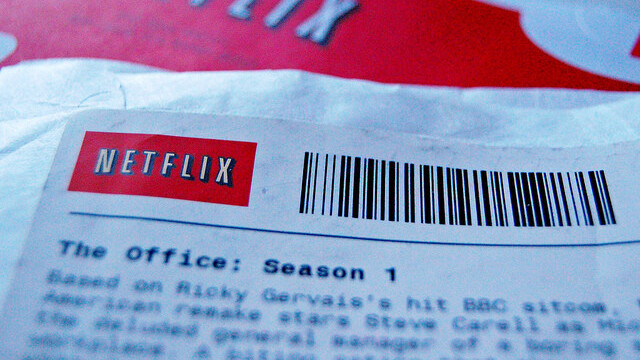 You now have to wait 56 days to rent new Warner Brothers titles from Netflix
