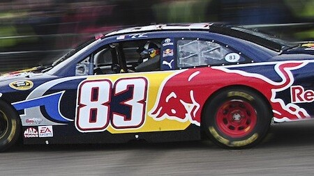 Twitter users can get their usernames on a NASCAR race car with this social media campaign