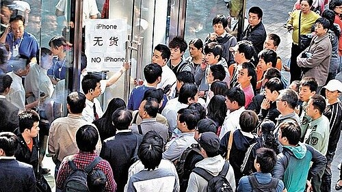 Apple to stop selling the iPhone 4S in Beijing and Shanghai due to safety concerns