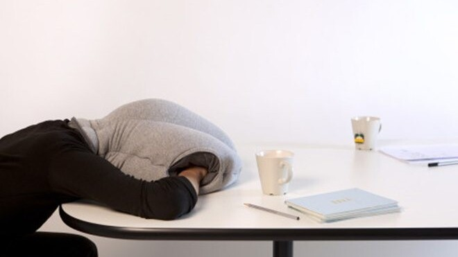 The Ostrich Pillow: An essential item for anyone who enjoys a nap