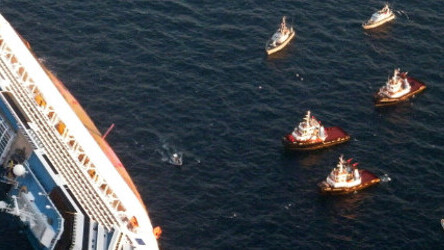 How would you react if you owned sunken ship Costa Concordia?