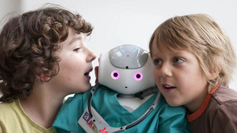 Scientists just 'proved' that it's easier to influence children with robots than adults
