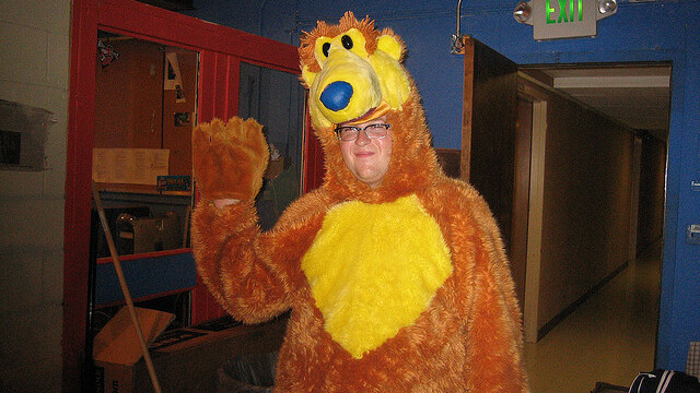 Co-founder of charity fundraising site Raise5 will dance in a bear suit for your Valentine