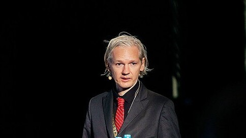 Julian Assange might want to trademark his face after seeing this Taiwanese advert…