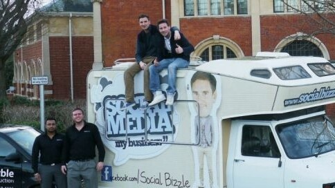 Social Bizzle takes its 'Facebook for business' enterprise on the road…literally