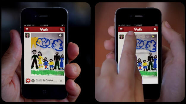 Social sharing app Path now serving over 2 million users