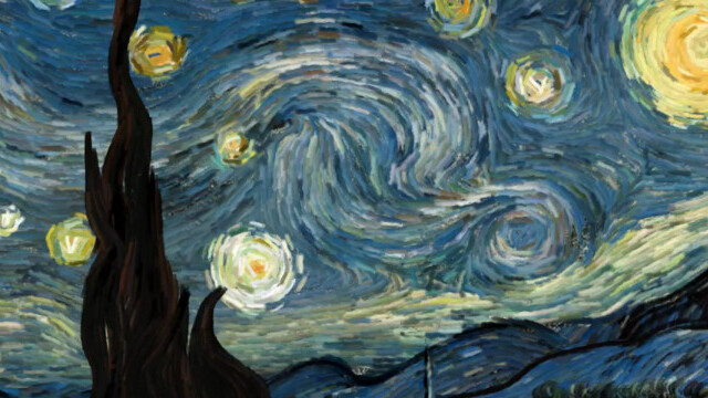 Watch Starry Night come to life in this mind-blowing interactive animation