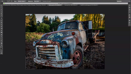 Take a sneak peek at Photoshop's new jaw dropping content-aware fill updates