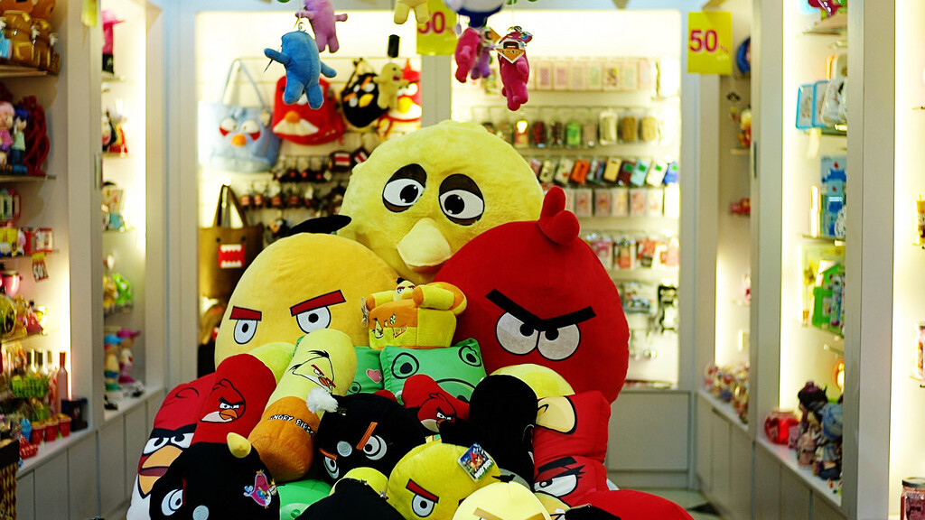 Rovio now selling Angry Birds merchandise in top Chinese e-commerce site