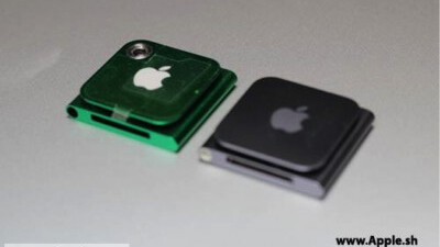 iPod Nano prototype shots surface with a hole for a tiny camera