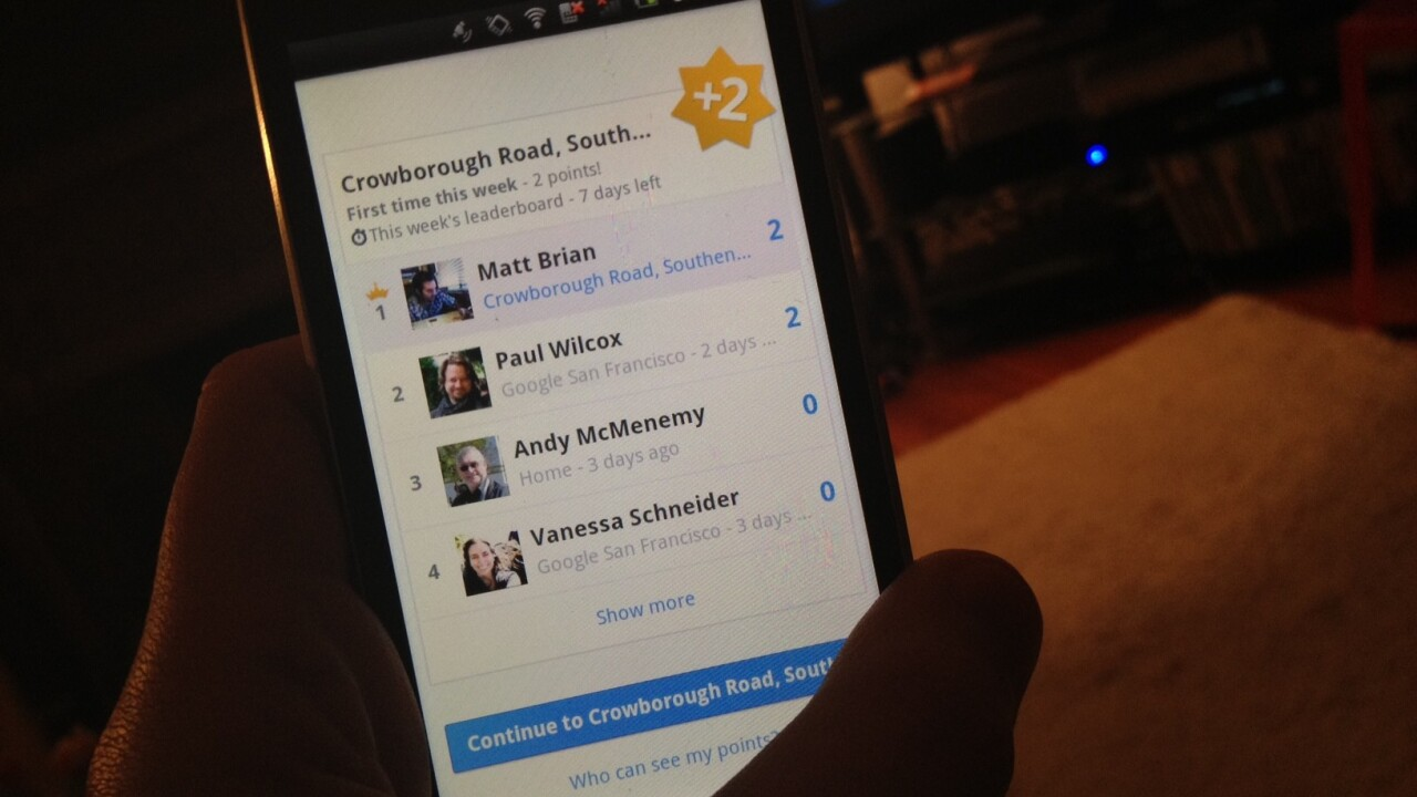 Google's new Latitude Leaderboards suggest gamified check-ins are coming to Google+