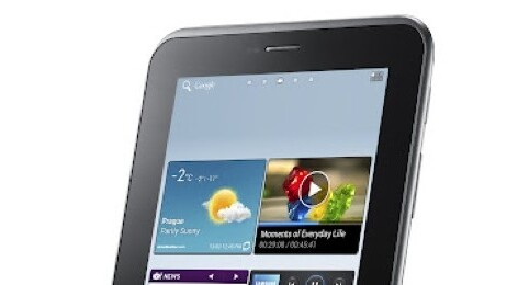 Samsung announces Galaxy Tab 2 with Android 4.0 and new cloud services, available March